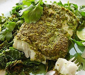 Halibut is one of the foods that gives you a lot of protein