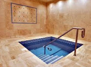 A mikvah that a woman would use for family purity