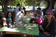 Picnic for members of Young Israel Hancock Park