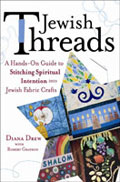 A book about crafting with threads